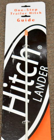 Hitch Lander - One step trailer hitch guide.