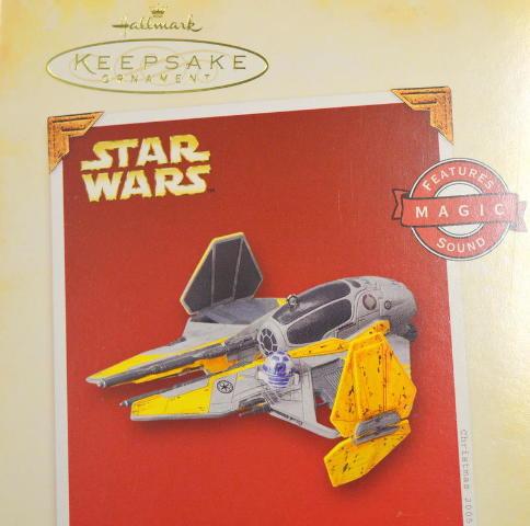 """Hallmark  """"Anakin Skywalker's Jedi Starfighter"""" in Revenge of the Sith - #06192"""