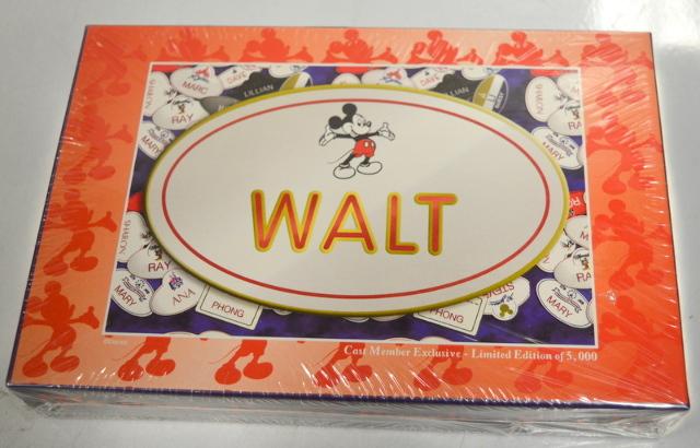 "Disney ""Walt"" 96 Piece Jigsaw Puzzle - 8"" x 12"", Cast member Exclusive Limited Edition"