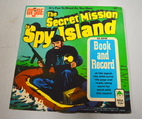 GIjoe The Secret Mission to Spy Island-1965-Fun to read as you hear!