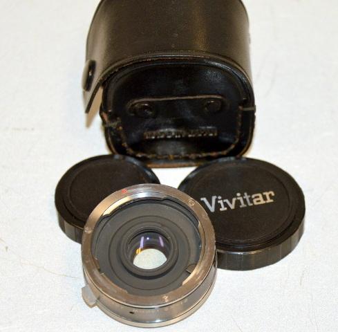 Vivitar Auto 2x Custom Tele-Converter Model 2X-12