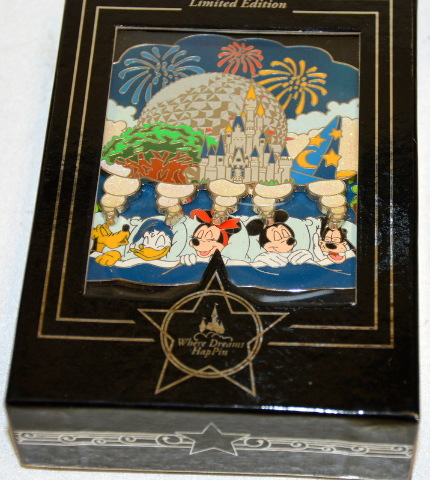 "2007 Jumbo Disney  Where Dreams HapPin ""Dream"" Limited Edition of 1400"