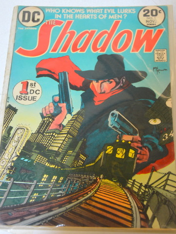 The Shadow 1ST DC issue -Nov. 1973 #30684
