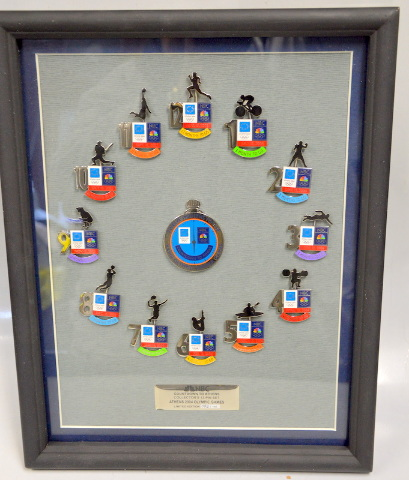 Athens 2004 Olympics  Limited Edition 096 pf 140 NBC 12 Month countdown to games.