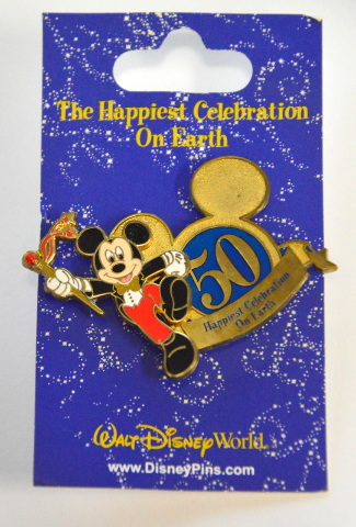 The Happiest Celebration on Earth - Mickey Drum Major 50 Year Anniversary