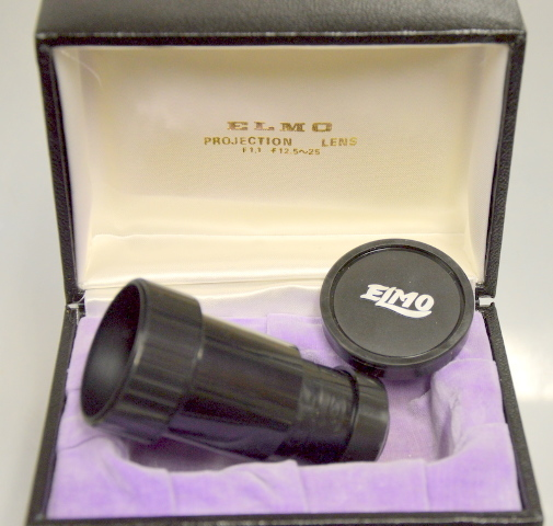 Elmo Super Zoom Lens 1:1.3 f=15~25mm Projection Lens for GP Series