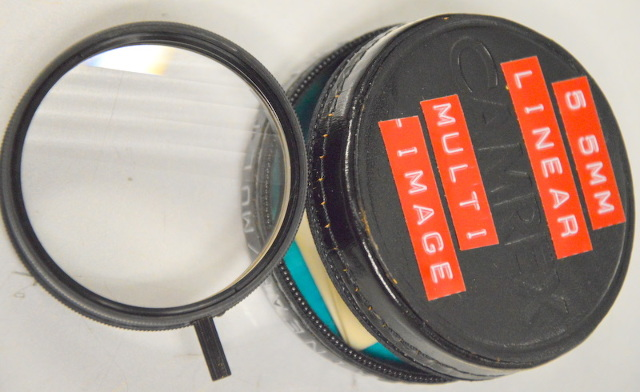 Camrex 055.0 55mm Linear Multi Image  Special Effects Filter with case