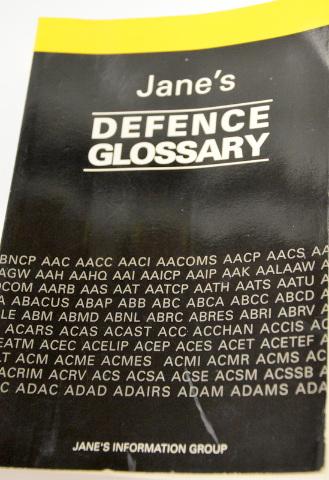 Jane's Defence Glossary