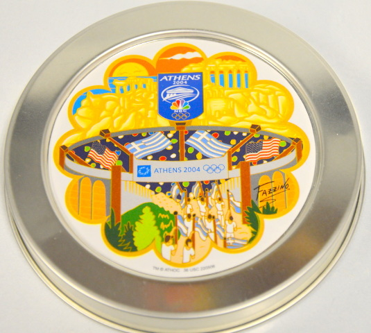 NBC Olympic Athens 2004 Tin Top - Remade for quality purposes.