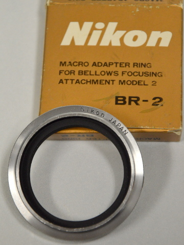 Nikon BR-2 Macro Adapter Ring for Bellows Focusing Attachment
