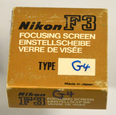 Nikon F3 Focusing Screen G4