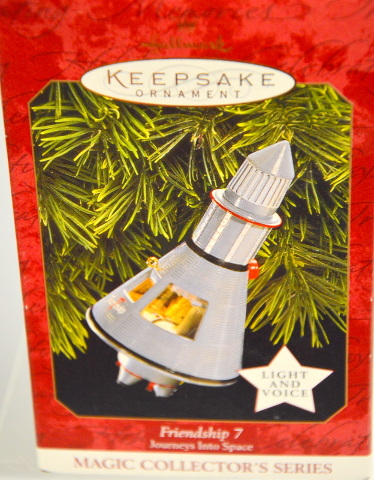 Hallmark Ornament Friendship 7 Journey in to Space #07532 - Light and Sound