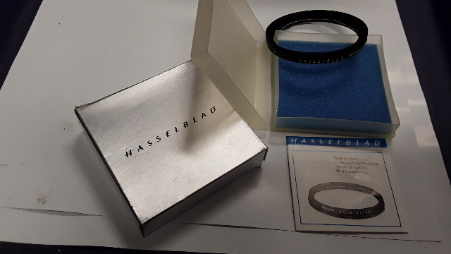 Hasselblad #40711 50 -60 mm UV Filter Step-Up Adapter Ring in case