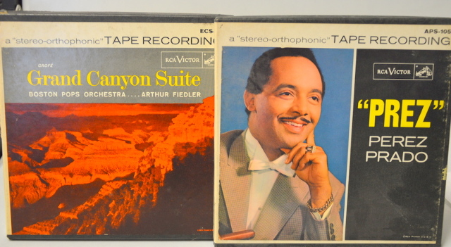 2 RCA Victor Recordings Sterio Tape: ECS-17, APS-105  - 2 Chanel 7 1/2 IPS