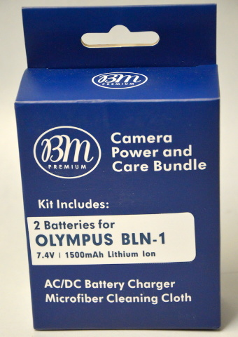 Olympus - BLN-1 Lithium Ion Battery Pack OM-D / BCN-1 E-M5 OM-D and more