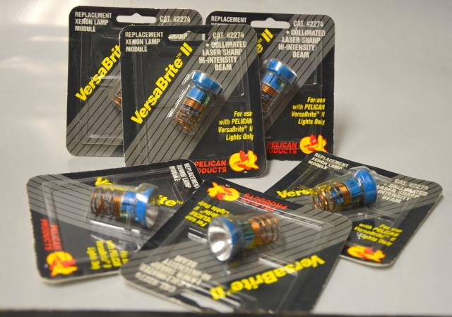 Pelican VersaBrite II Replacement Laser Spot Xenon Lamp Module -6 pcs