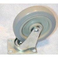 "5"" x 1 1/4"" POLY-U ON POLY-O WHEEL CASTER"