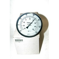 Industrial Grade 1NGF1 Thermometer, Dial Size 5 In, -20 to 120 F