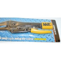 """10"""" Long Nose Semi-Automatic Locking Pliers by MIT #3727"""