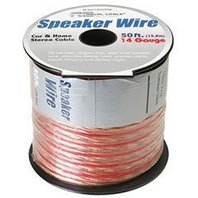 Factory Buyouts 14 AWG High-Strand OFC Royal Cable Speaker Wire 50 feet Roll