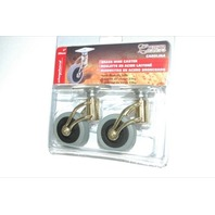 Shepherd Deisgner Brass Wire Casters -2 pcs - New #3354