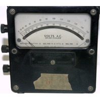 Weston Electrical Instrument Corp Volts A.C. Meter Model 610 - Vintage