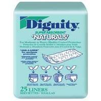 Dignity Naturals Liners (Bag of 25)