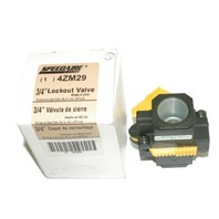 "Speedaire - 3/4"" Lockout Valve #4ZM29"