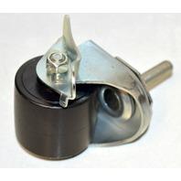 """2"""" x 1 5/8"""" Threaded Stem, Stem 3/8- 16 x 1 1/2"""" - Locking Caster - Duraplas Wheel"""