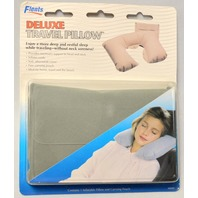 Deluxe Travel Pillow by Flents - New - #68492