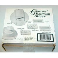 Gourmet Express Slicer - New
