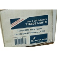 Advance Core and Coil Ballast Kit #71A6051-001D - Used - Looks new.