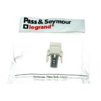 Pass & Seymour Legrand Keystone BNC Connector #LSBMC-LA - 2 piece