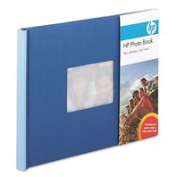 HP Blue Photo Book Easily make a Profession-Quality Album - 7 x 5