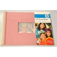 HP  Mauve Photo Book  Make a Professional-Quality Photo Book - 7 x 5