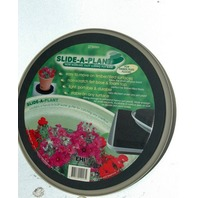 "Slide-a-plant - New -13 3/4 ""across - smooth for carpeted floors"