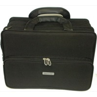 InFocus Black Polyester Briefcase w/ shoulder strap