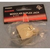 MODULAR DUPLEX JACK