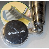 Deluxe Golf Brush - by World of Golf