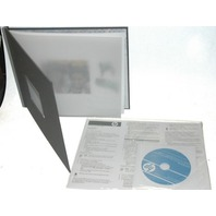 HP Photo Book-New-Q8789A-w/Software-Indigo - 8.5x11""