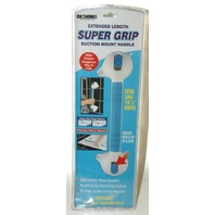 "Extended reach ""Super grip"" handle for showers, & tubs"