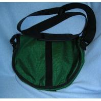 Nylon Saddle Bag-Lg. Size - Olive Green