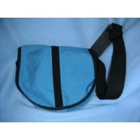 Nylon Saddle Bag - Med Size-blue