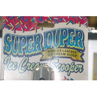 Super Duper Ice Cream Scooper - New
