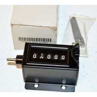 "3"" Mechanical Counter With Base, Clicker Counters 5 digits. New"