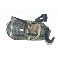 "Boxer Ratchet Tiedown - New - 2"" x 27"" Camo Color w/ J hooks."