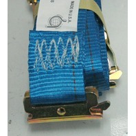 "Boxer - Logistic E-Track Ratchet Tiedown 2"" x 20' - Blue - New"
