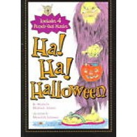 Ha! Ha! Halloween by Michelle Medlock Adams -Hardcover