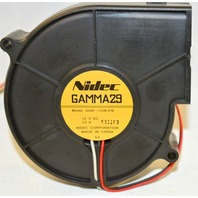 Nidec Gamma29 12V DC Fan - .13A - New