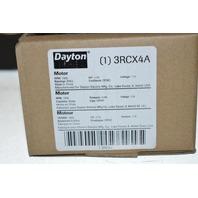 Dayton 3RCX4A 1/10 HP, 115V, 1550 RPM, Bearings: Ball.